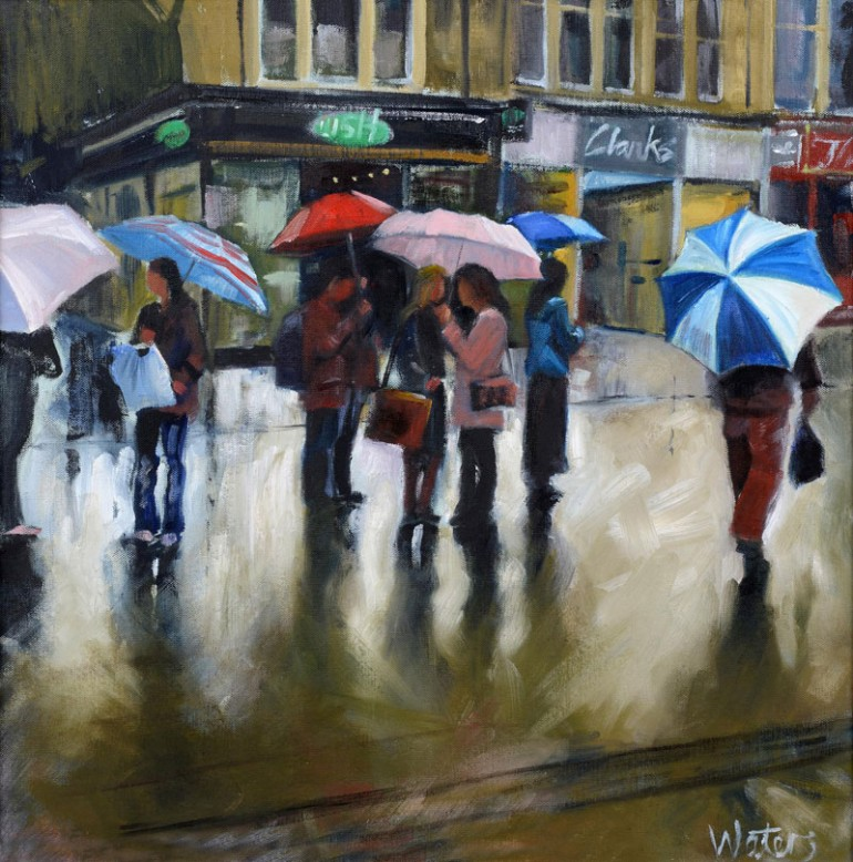 Grant Waters Artist - April Showers