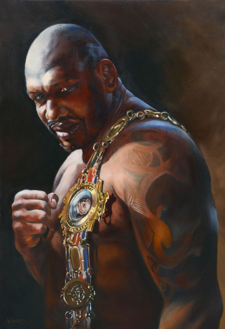 """Grant Waters - Julius """"Big Dog"""" Francis with Lonsdale Belt"""