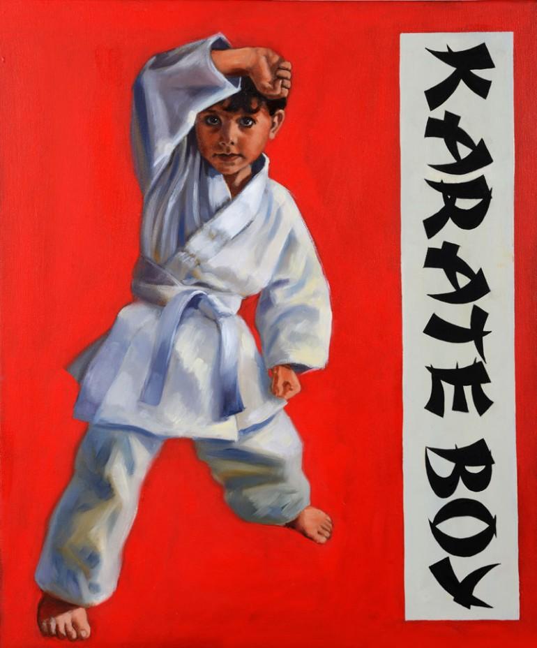 Grant Waters - Karate Boy